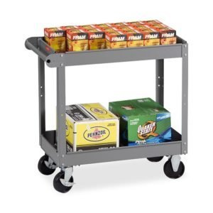 Tennsco Two Shelf Service Cart