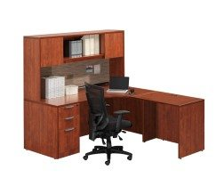 Cherry Secretarial Desk