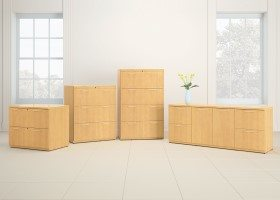 Maple Conference Credenza