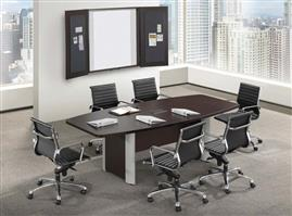 8′ Espresso Conference Table
