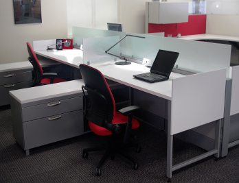 remanufactured workstations cubicles from Superior Office Services Nashville, TN