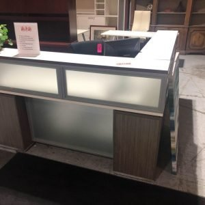 used reception desk modern