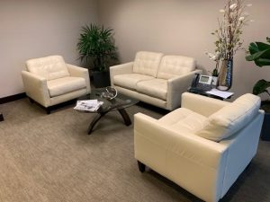 used reception area furniture