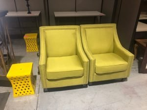 Used Yellow Reception Area Furniture