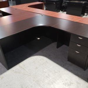 L Shaped Office Furniture Desk