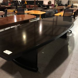 Espresso Office Conference Table (used)