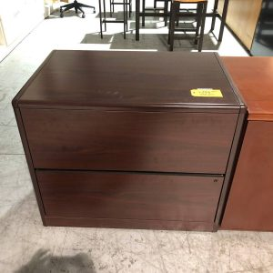 Filing Cabinet – Lateral – 2-Drawers (used)
