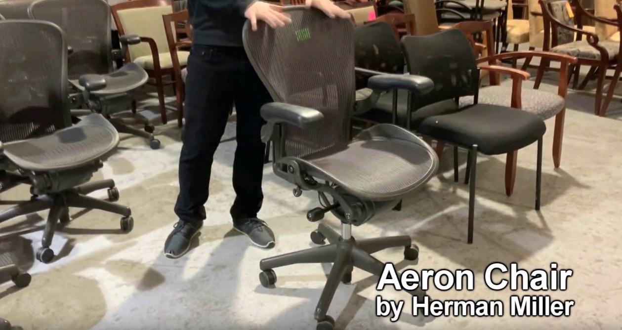 Herman Miller Aeron Office Chair (video)