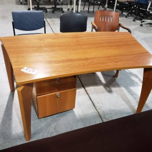 Maple Wing Office Table Desk (used)