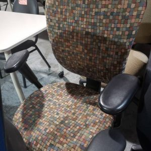 Confetti Color Office Chair (used)