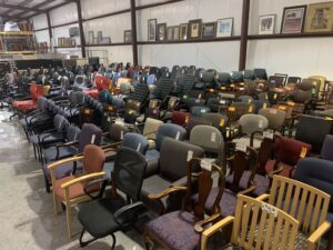 used seating superior office services nashville