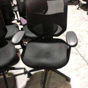 Black Mesh Back Task Chair (used)