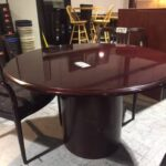 conference tabled round used superior office services nashville