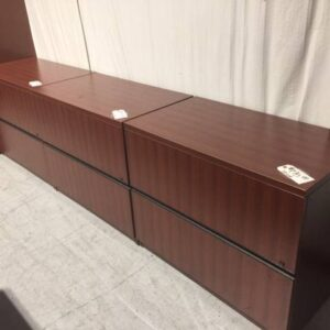 Cherry 2-Drawer Lateral Filing (used)