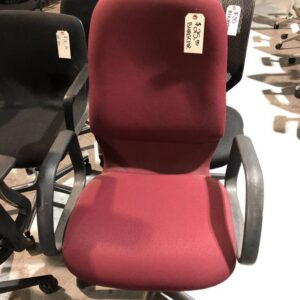 Burgundy Office Task Chair (used)