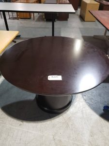 Espresso Round Office conference Table