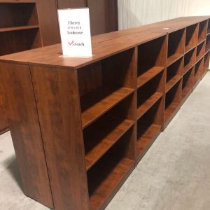 used casegoods bookcases library