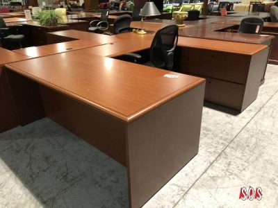 National Furniture U-Shape Office Desk (Used) from Superior Office Services