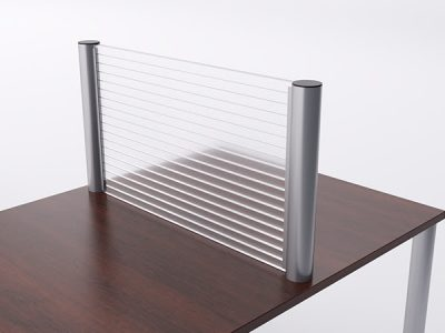 Privacy Safety Post Panels COVID-19 Office Furniture Protection